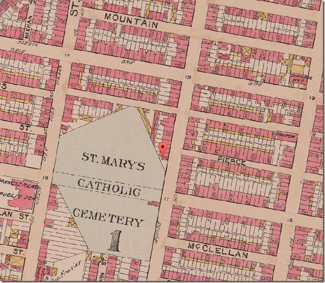 1895 St Mary's Roman Catholic Cemetery