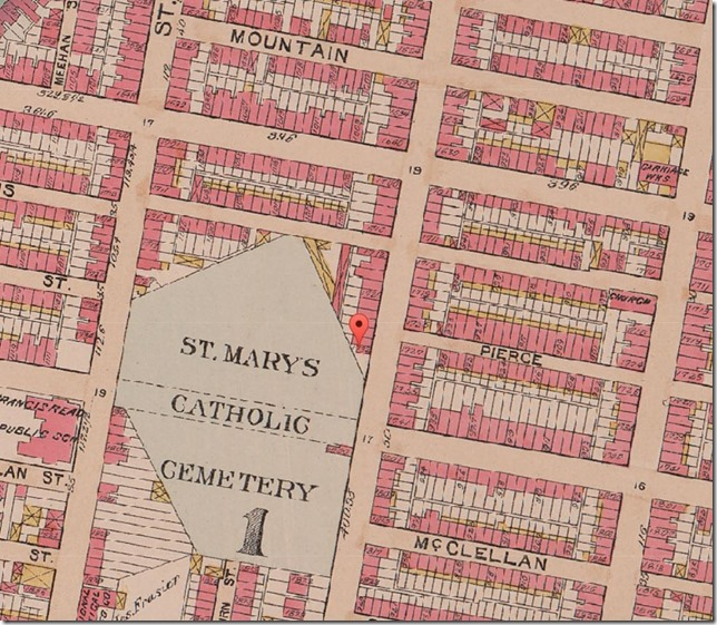 1895 St Mary's Roman Catholic Cemetery