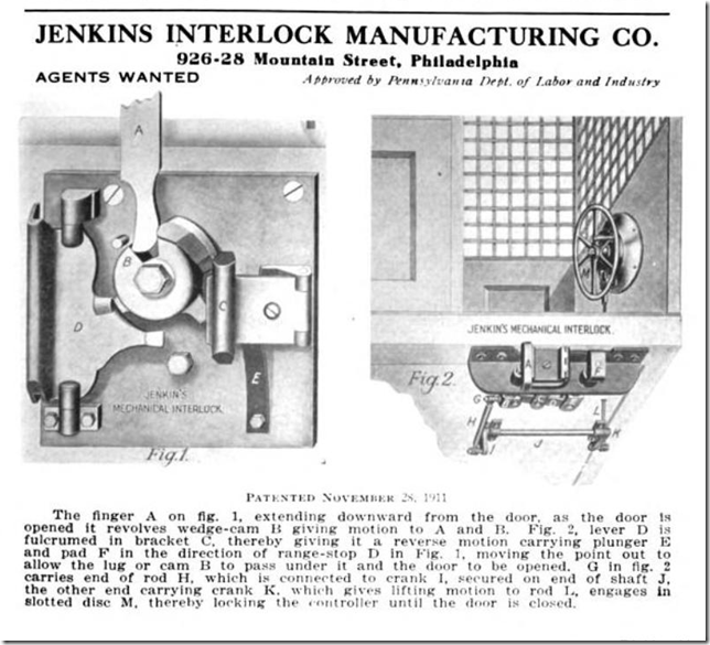 1918 Jenkins Interlock Manufacturing Company The Elevator Contructor Quarterly Journal